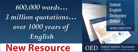 Oxford English Dictionary now available