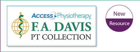 F.A. Davis PT Collection new resource announcement