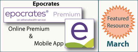 March Featured Resource: Epocrates