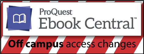Proquest EBC Off Campus Access